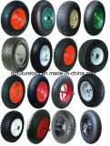China High Quality Wheel Barrow Direct Factory with Solid Wheel, Pnuematic Wheel, PU Foam Wheel, Professional Tecnical