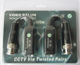 Single Channel Passive Video Balun with BNC Pigtail (612P)