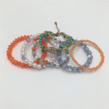 Vintage Jewellry Fashion Alloy Bracelet with Chaming Beads Ladies Bracelet