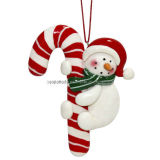 Clay Dough Snowman Ornament (BKC0116)