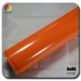 Tsautop 1.52*30m Glossy Orange Car Wrap Film with Air Channel