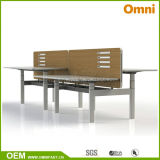 2016 New Hot Sell Height Adjustable Table with Workstaton (OM-AD-027)