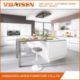 Modern Pure White Commercial Use Lacquer Kitchen Cabinet