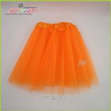 Orange Party Skirt Lady Dancerwear