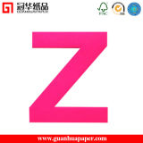 Logo Printed Sticky Notes Letter Shaped Paper Sticky Notes