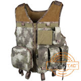 1000d Nylon or Cordura Military Tactical Vest with ISO Standard Outdoor Hunting