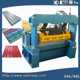 Glazed Roof Cold Roll Forming Machine From China