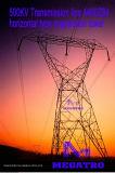Megatro 500kv Transmission Line 4400zb4 Horizontal Type Suspension Tower