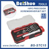 15 PCS S2 Alloy Steel Screwdriver Bit Set