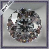 Brilliant Cut 9hearts &1flower Cubic Zirconia Gemstone for Jewelry