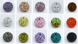 Fashion Beads, Shamballa Pave Beads, Diamond Shiny Ball (1002)