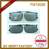 FM15026 Polarised Lens Spring Clip on Glasses Flip up Glasses