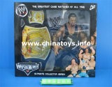 Newest Soft Plastic Toys Wrestler Doll with Gold Belt (845206)