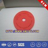Red Plastic PTFE Round Flat Washer Gasket (SWCPU-P-S049)
