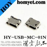 Micro Type C USB Connector for Mobile Accessories (HY-USB-MC-01N)