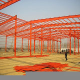Prefabricated Light Steel Structure for Workshop and Warehouse