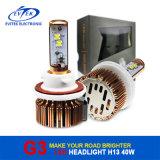 2016 Universal LED Headlight 8~48V 3000/3600lm 6000k Wholesales H1 H3 H7 H11 H13 9004 9005 9006 9007