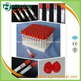 Red Cap Plain No Additive Vacuum Blood Collection Tube