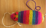 Colorful Sisal Mouse Pet Toy Pet Product