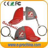 Carton Baseball Cap PVC USB Flash Pen Driver for Free Sample (EG098)