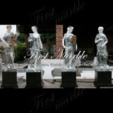 Multi-Colored Marble Four Season Sculpture for Building Material Ms-658