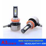 A3 H7 LED Headlight 45W 6000lm LED Car Light