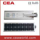 40W Integrated LED Solar Garden Light with Solar Panel