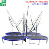 Cheap Mini Bungee Trampoline Bwith Trailer for Sale (trampoline01)