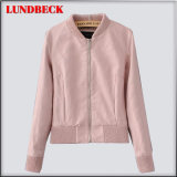 Fashion PU Jacket for Women Outer Wear