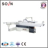 Degree Titling Manual Sliding Table Panel Saw with Scoring Blade