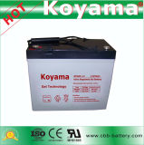 55ah 12V Gel Storage Battery for Solar Power System Npg55-12