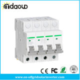 4p DC DIN Rail Miniature Circuit Breaker Non Polarized DC Breaker with TUV Certificates From 10A to 63A