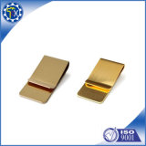 OEM\ ODM Made Metal Fabrication Stamping Parts Gold Plating Money Clip