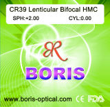 Cr39 1.499 Lenticular Hmc Optical Lens