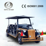 8 Seaters Solar Panel Golf Cart Electric Vintage Car Factory Price