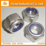 Made in China A4-80 Nylon Lock Nut DIN982 985