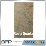 High Quality Natural Rusty Quartz for Kitchen Countertop/Floor Tile