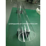 Clear Fused Quartz Tubing with Momentive Materials