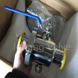Stainless Steel Sanitary Non Retention Side-Clamp Ball Valve