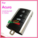 Auto Acura 4 Buttons Remote Key Shell