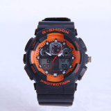 Multifunctional Double Display Sport Electronic Watch with Luminous Apt-S0823