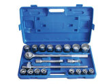 "Hand Tool Socket Wrench Set 21PCS 3/4"" Crmo Steel Series Type a"