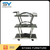 Good Quality Stainless Steel Large Dinner Trolley