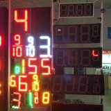 Outdoor 7segment Digital LED Gas Price Sign/LED Oil Station Display/LED Fuel Gasoline Board Panel Waterproof IP 65