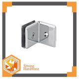 Zinc Alloy 90 Degree Single Glass Partition Brace