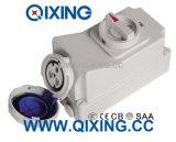 16A 3p Blue IP67 Electric Switch Socket Machine