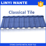 Popular in Africa Colorful Stone Coated Metal Roof Tile