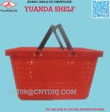 Jumbo Grocery Plastic Shopping Baskets Wholesale