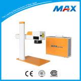 Portable 20W Mopa Fiber Laser Marking Machine on Metal Processing