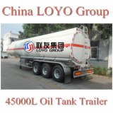 Carbon Steel 45000L 3 Axle Competitive Oil Tank Trailer Price
